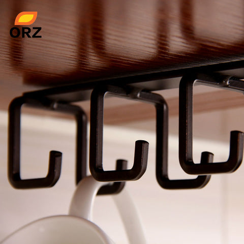 Image of Iron Kitchen Shelf Hook