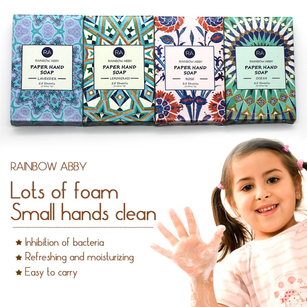 Travel Scented Soap Paper [4-in-1 Pack Special]*