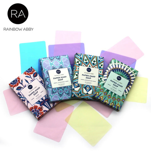 Image of Travel Scented Soap Paper [4-in-1 Pack Special]*