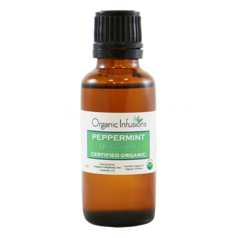 Image of Organic Peppermint Essential Oil - USDA Certified (15ml/30ml)