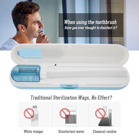 Image of UV Sterilizing Toothbrush Box*