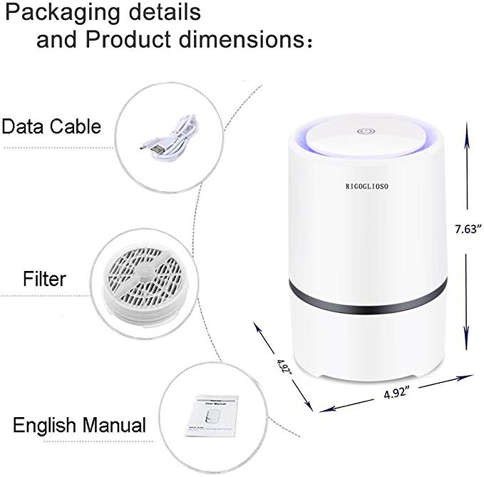 RIGOGLIOSO™ - HEPA Filter Air Purifier [FREE SHIPPING]