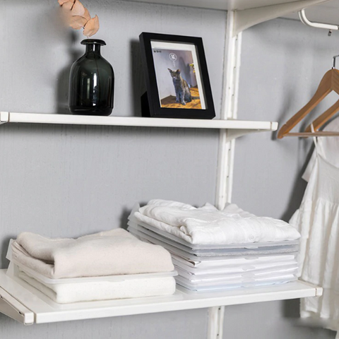 Image of Ultimate Closet Set - Closet Space Saver + Stackable Clothing Organizer Board