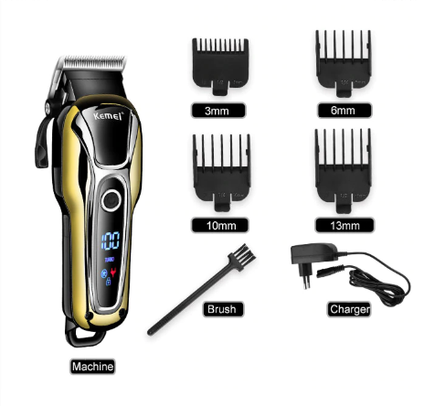 Kemei®  - Rechargeable Hair Cutting Kit
