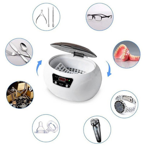 Image of SKYmen™ - Professional Ultrasonic Cleaner for Accessories, Jewelry, Eyeglasses, and MORE!