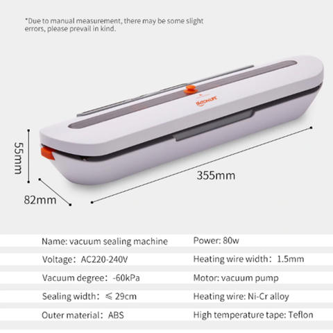 Image of TintonLife™ - Food Vacuum Sealer To Minimize Shopping Trips And Keep Food Fresh Longer!