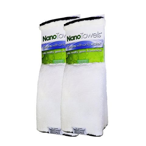 [NEW] SPECIAL EDITION - Vanilla NanoTowels® Replaces Expensive Paper Towels And Toxic Chemical Cleaners With ONLY Water