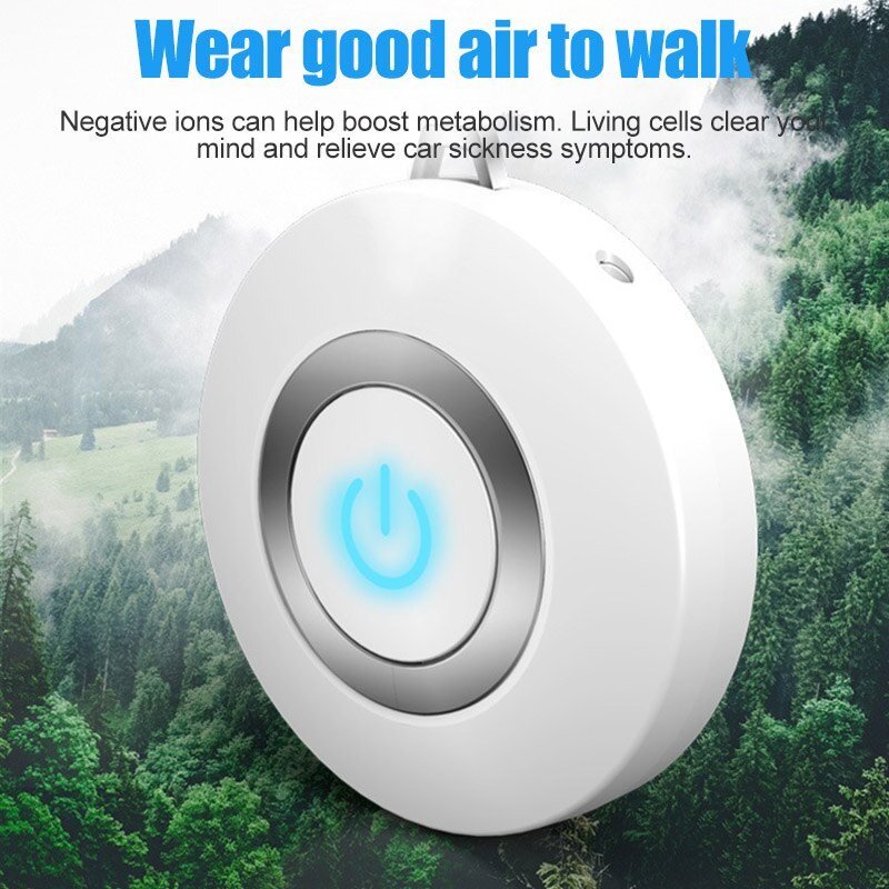 Portable Air Purifying Necklace*