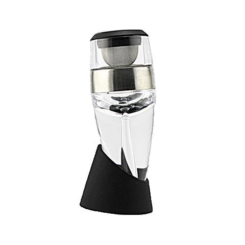 Image of [Wine Combo Set] Wine Aerator Decanter & Stainless Steel Cleaning Beads & Happy Man
