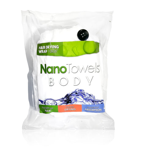 NanoTowel Hair Drying Wrap [Single Pack]