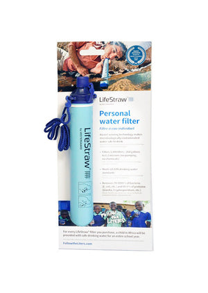 LifeStraw Personal Water Filter [Prepper's Pack Special]