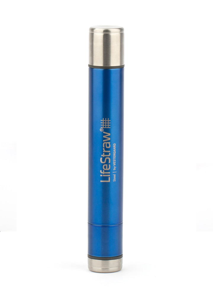 LifeStraw Steel - BONUS 2x Carbon Capsule Replacements [FREE SHIPPING]
