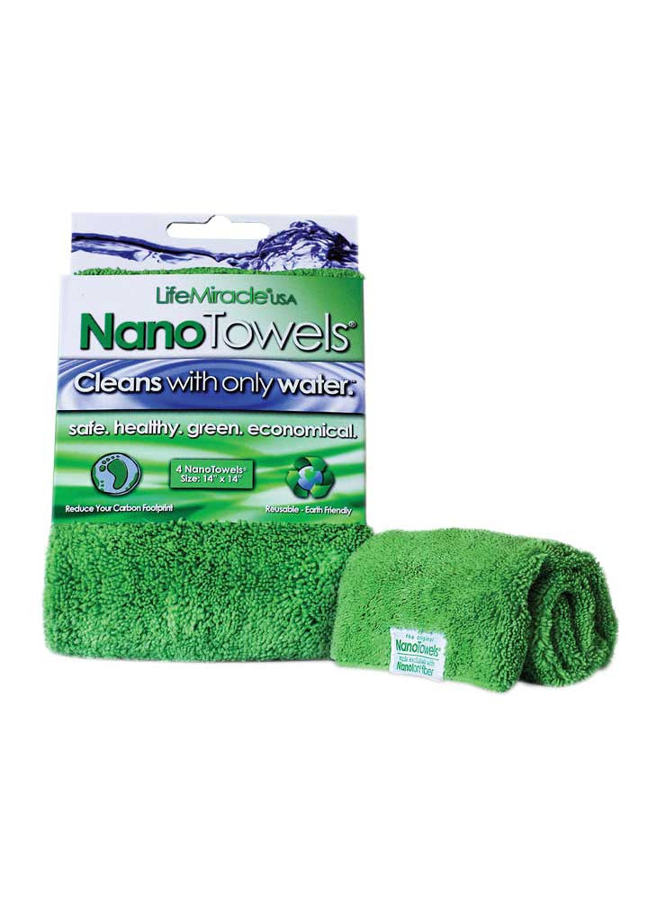 Super NanoTowels 1 pk + Nanotowels 1 pk + NanoSponges 1 pk [Bundle Package]