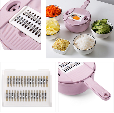 Image of 9-in-1 Multipurpose Biodegradable Kitchen Grater