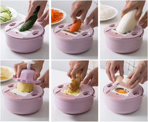 9-in-1 Multipurpose Biodegradable Kitchen Grater [LIMITED-TIME OFFER]