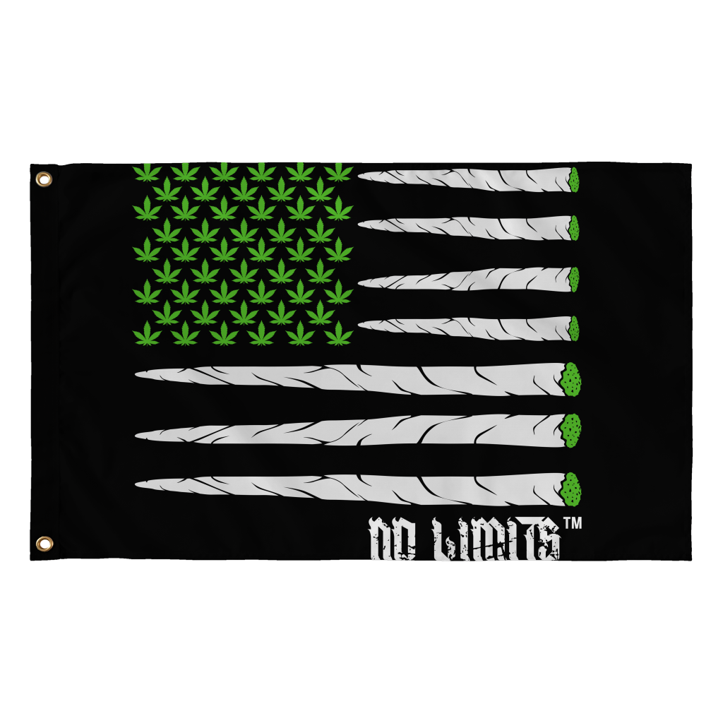 No Limits Blunt Flag