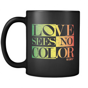 Love Sees No Color Multi Colors Mug