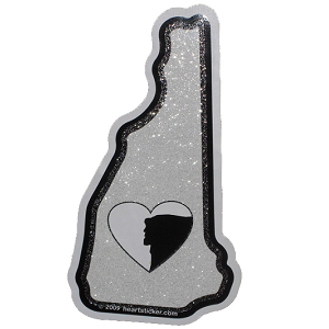 New Hampshire Love Sticker