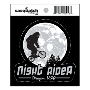 Night Rider Oregon Sticker