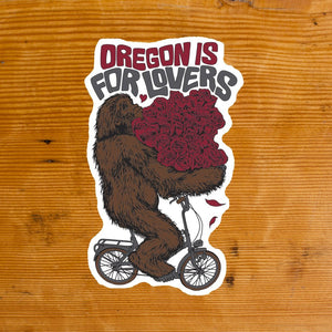 Oregon is for Lovers Sticker