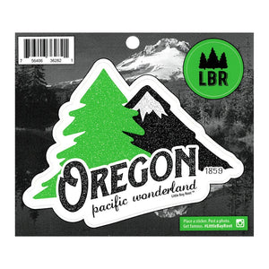 Oregon Pacific Wonderland Vintage Sticker