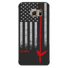 Native American Spear Flag Galaxy S5, S6, & S6 Edge Light Black