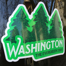 Washington the Evergreen State Sticker