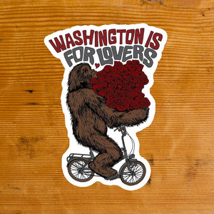 Washington is for Lovers Sticker
