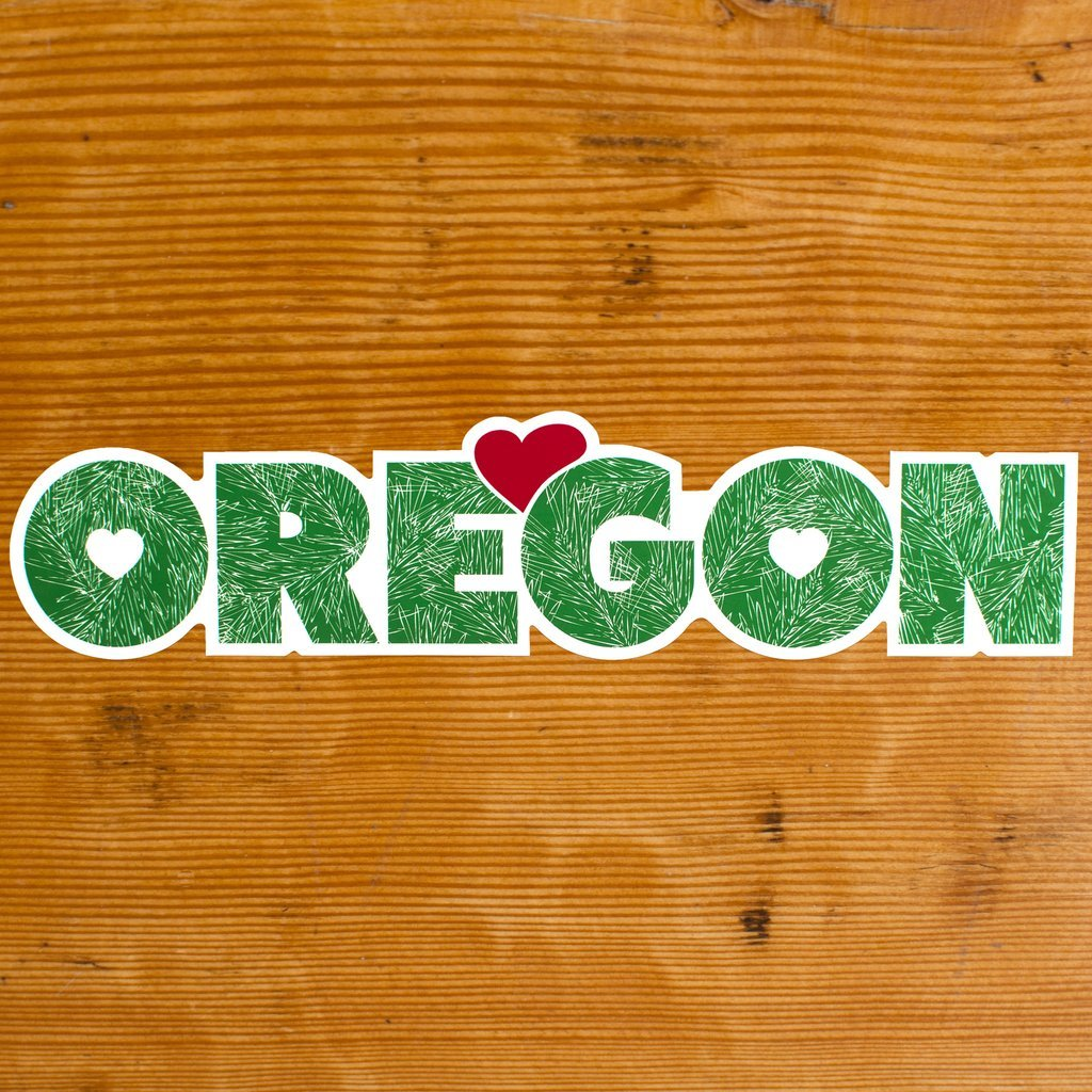 Oregon Fir Sticker