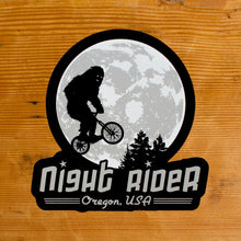 Night Rider Portland Sticker