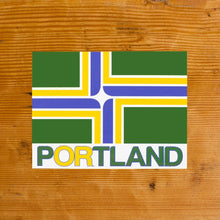 Flag of Portland Oregon Sticker