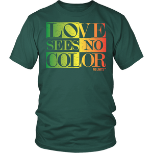 Love Sees No Color Rainbow District Unisex Shirt by No Limits