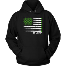 Blunt Flag Unisex Hoodie by No Limits