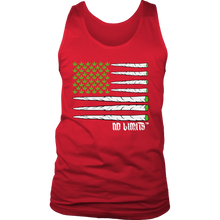 Marijuana Joint Flag District Unisex Tank by No Limits
