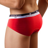 AsdruMark Brief Classic Red Men's Underwear