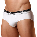 AsdruMark Brief Classic White Microfibre Men's Underwear