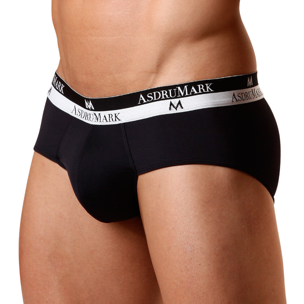 AsdruMark Brief Classic Black Microfibre Men's Underwear