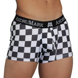 AsdruMark Boxer Finish Line Men's Underwear, the perfect gift for all motorsport fans!