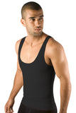 Moldeate Men's Shapewear Compression Vest, Black