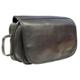 AsdruMark Dark Brown Hanging Wash Bag