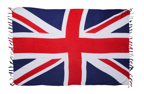 AsdruMark GB Union Jack Flag Beach Throw/Sarong