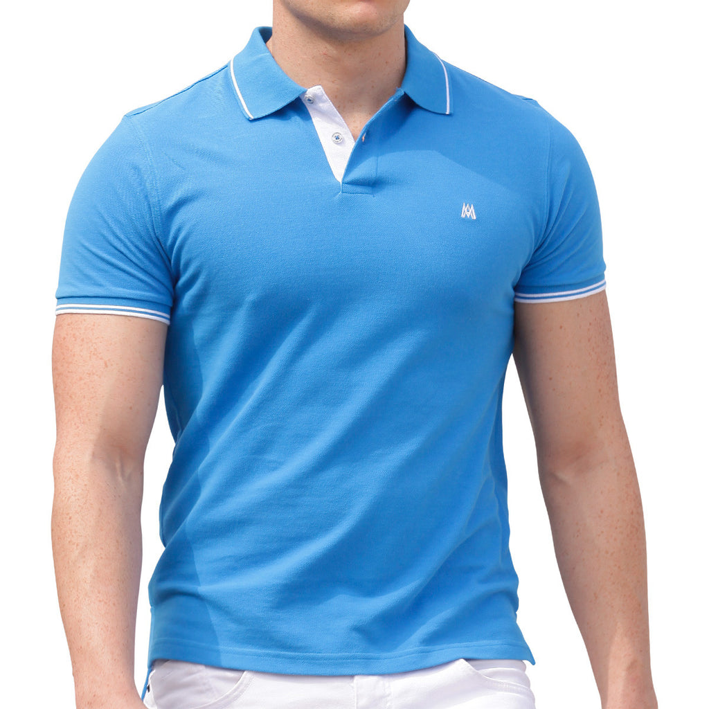 AsdruMark Polo Shirt Cobalt Blue