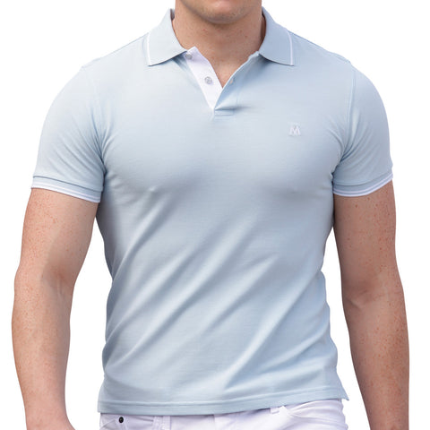 AsdruMark Polo Shirt Powder Blue