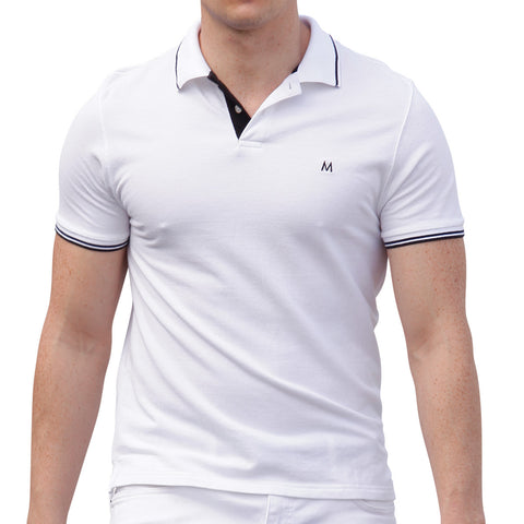 AsdruMark Polo Shirt White