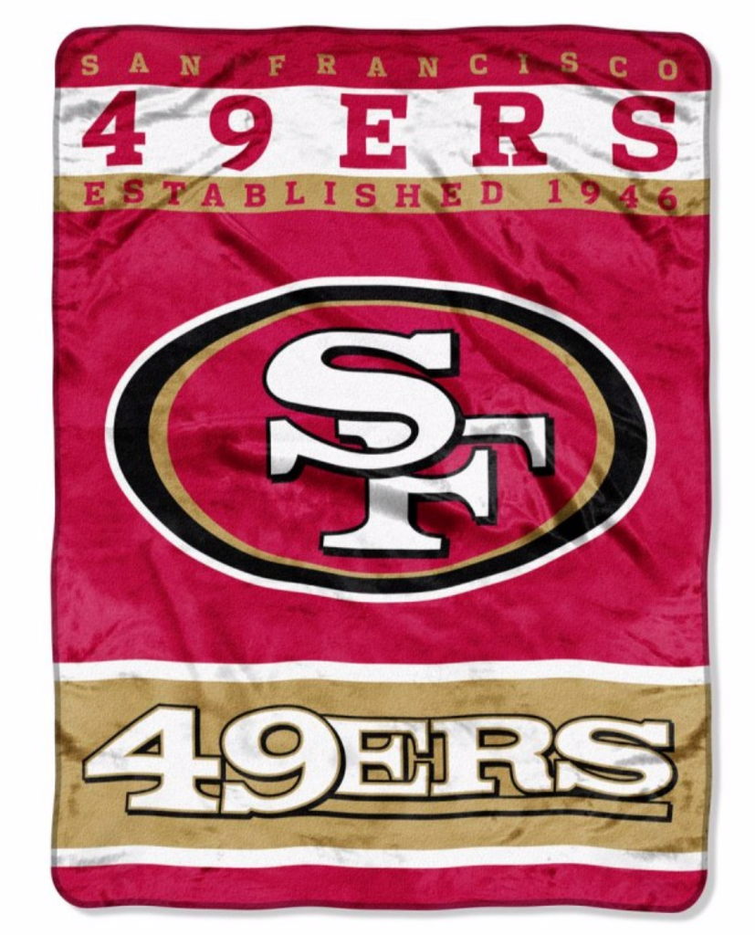 San Francisco 49ers Twin Blanket