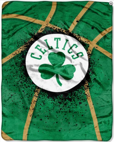 Boston Celtics Twin Blanket