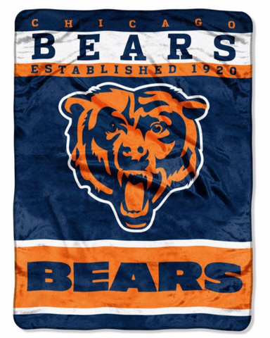 Chicago Bears Twin Blanket