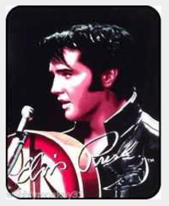 Elvis Presley King Of Rock And Roll 1968 Comeback Queen Blanket