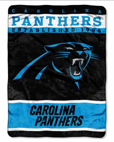 Carolina Panthers Twin Blanket