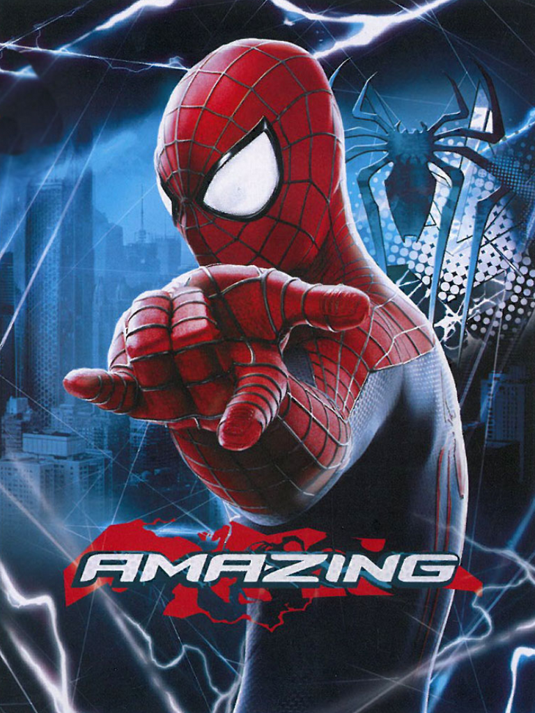 The Amazing Spiderman Twin Blanket